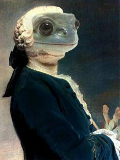 Animals Images, Cute Animals, Funny Animals, Frog Pictures, Frog Art, Renaissance Paintings, Cute Frogs, Animal Heads, Weird Art