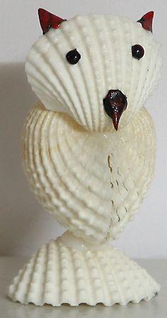 White Owl - Vehicle of Goddess Lakshmi (Shell))