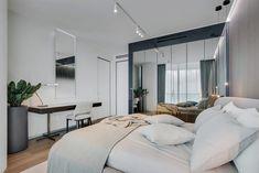 Apartment in Oceana by YØDEZEEN Architects - MyHouseIdea Public Hotel, Hotel Room Design, Apartment Goals, Residential Complex, Home Bedroom, Bedroom Ideas, Condominium, Office Interiors, Decoration