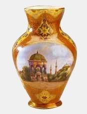 Yıldız Porselen Vazo