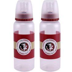 Florida State Seminoles (FSU) 2-Pack 9oz. Baby Bottle Set