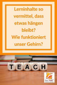Um ein guter Lehrer zu sein müssen wir Wissen wie das Gehirn unserer Schüler Informationen aufnehmen kann.  Hier klicken und nicht vergessen zu pinnen! #lernenabitur #lernentipps #gehirntraining