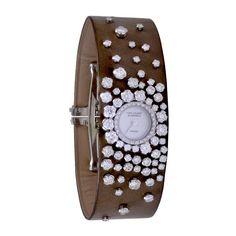 VAN CLEEF & ARPELS White Gold Rosee Diamants Watch