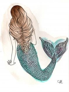 I wish I was a mermaid.                                                                                                                                                                                 More
