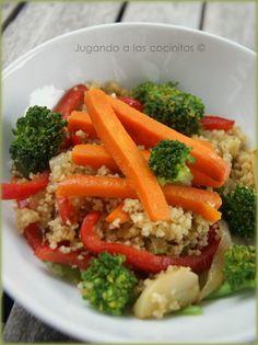 Couscous de brócoli | Cocina y Comparte | Recetas de @Silvia González