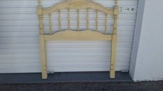 FRENCH PROVINCIAL TWIN HEADBOARD VERY NICE SHAPE #FLORIDAFURNITURE #FRENCHPROVINCIAL