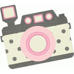 Silhouette Design Store: pink and grey camera
