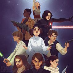 The Star Wars Trinity - Natalia Trykowska