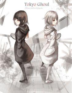 Yasuhisa Kurona, Yasuhisa Nashiro - The twins. - Tokyo Ghoul.