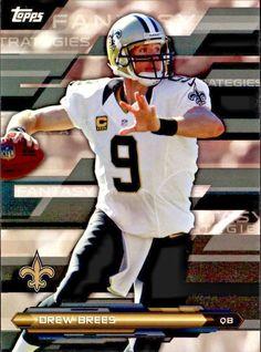 2014 Topps Fantasy Strategies #FFSDB Drew Brees Team: New Orleans Saints