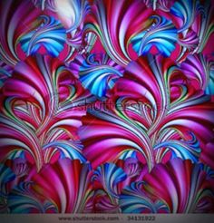 Fractals - Orchid Seduction - By Unknown