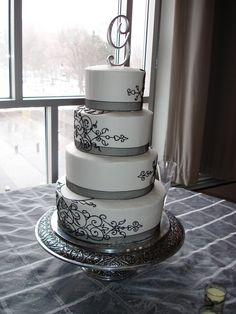 White and Black Wedding by atrotter719.deviantart.com