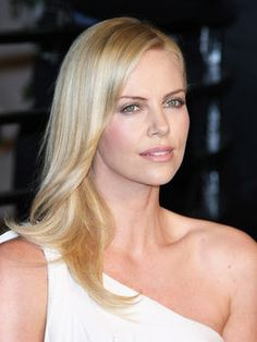 """Charlize Theron , American/South African Actress / I watched """"AEON Flux"""" in which she starred, and took to her."""
