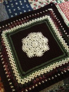 Great Granny Square! Free pattern