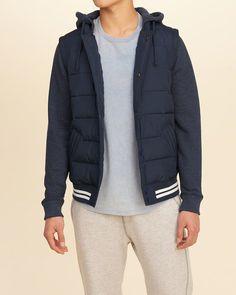 Hooder puffer jacket