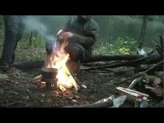 Bivouac Camp And Survival Skill Priorities - Fire Wood and Making Shelter