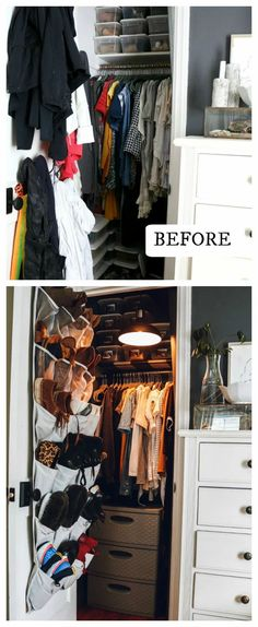 One of the biggest perks to sorting though your clothes you are taking inventory without knowing it! You will quickly see where you have MORE THAN enough! And maybe another spot you are lacking. After doing my closet decluttering I realized a few items I wanted to replace, because they were looking a little shabby.