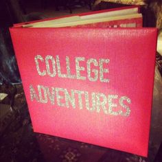 I need to make a scrapbook and this looks adorable How To Beat The Post-College Blues | College Lifestyles