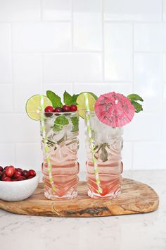 Who Wants a Cranberry Mojito? (+ Contest!) (CLOSED) – A Beautiful Mess