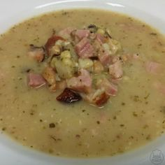 Czech Recipes, Bon Appetit, Cheeseburger Chowder, Oatmeal, Food And Drink, Soup, Cooking, Breakfast, Xmas