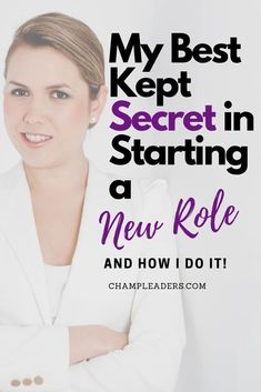Starting a new role can be quite daunting but it shouldn't be that way. The post talks about a career tip that has worked in any job role. Check it out!