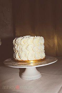 Butter cream rosettes a spoon fulla sugar wedding cakes cincinnati