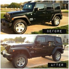 Lifted #Jeep Wrangler<3