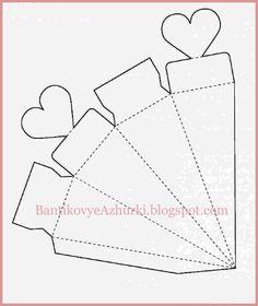 коробочка с сердцем на день святого валентина Diy And Crafts, Paper Crafts, Valentines Day, Scrapbook, Templates, Box, Ticket Invitation, Boyfriend, Yule