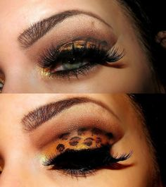 Animal Prints!!!! I'm not a big make up person, but this is just super darn smoochie!
