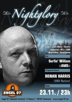 Nightglory feat. RONAN HARRIS  23/11/12
