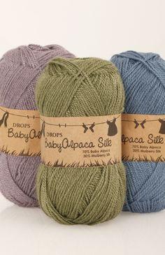 Nuancier de DROPS BabyAlpaca Silk ~ DROPS Design