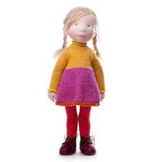 Gia - Handmade cloth doll