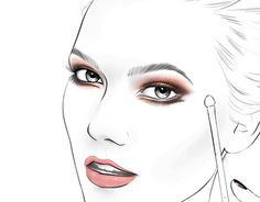 "Check out new work on my @Behance portfolio: ""L'oreal Face Chart"" http://on.be.net/1Oz1xGS #Facechart #face #chart #loreal"