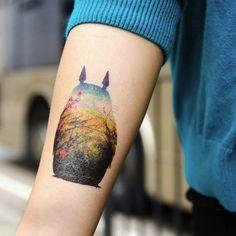 Tattoos Inspired by Hayao Miyazaki