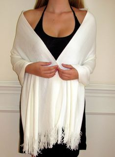 beautiful ivory soft knit shawl http://www.yourselegantly.com/catalogsearch/result/?q=winter+wrap