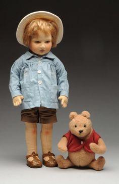 R. John Wright Christopher Robin & Pooh.