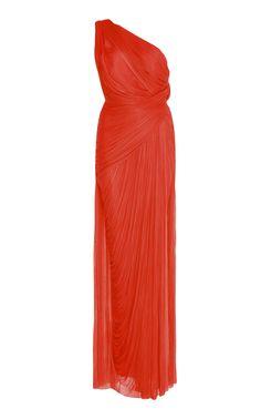 Maria Lucia Hohan Filipa One Shoulder Gown