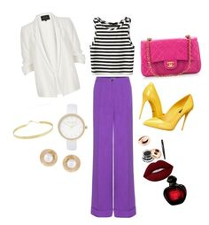 Sin título #47 by lzz33 on Polyvore featuring polyvore, fashion, style, River Island, Dolce&Gabbana, Chanel, Lana, Oscar de la Renta, Lime Crime and clothing