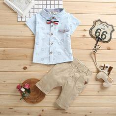 Conjunto Camisa e Calca Infantil Menino Roupa De Bebe Menina b3d71dd4fe1