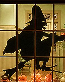 Witch Silhouette   Step-by-Step   DIY Craft How To's and Instructions  Martha Stewart