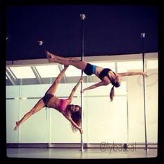 I've got nothing but respect for pole dancers. Incredible!  #poledance #polefitness