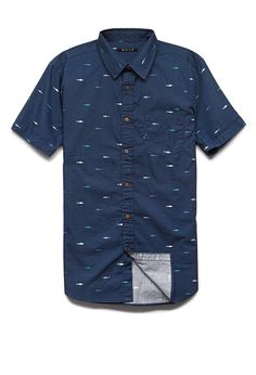 Shark Print Cotton Shirt | 21 MEN We can't wait for shark week 2014 #21Men #style #menswear