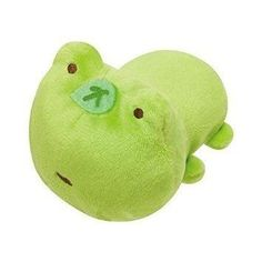 San-X Characters Mochi Pettan Handful Plush Doll Cleaner Mascot (Tomorrow Frog) (Tsuginohi Kerori) by San-X Co., Ltd [並行輸入品] Cute Stuffed Animals, Dinosaur Stuffed Animal, Cute Animals, Sock Animals, Kawaii Plush, Cute Plush, Beanie Babies, Png Icons, Cute Frogs