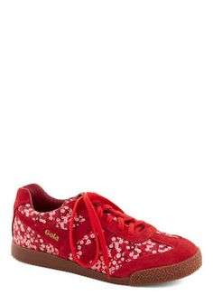 Gola Arrange of Motion Sneaker, #ModCloth | Love oriental inspired prints on shoes! $99.99