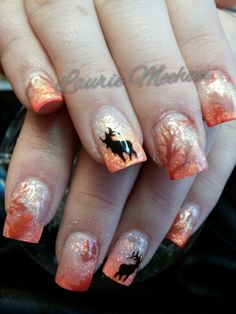 Hunting nails, just a different color :)