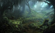 Arbor Wilds from Dragon Age: Inquisition