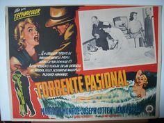 Niagara   Argentine movie poster, 1953