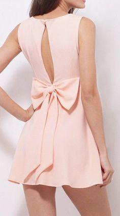 Baby Pink Skater Dress