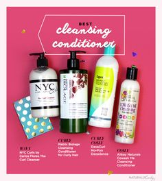 Naturally curly Best rated cleansing conditioner These won't strip your hair dry.
