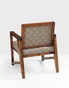 Seul Accent Chair Simple Sofa, Accent Chairs, Brown, Wood, Furniture, Home Decor, Upholstered Chairs, Decoration Home, Woodwind Instrument